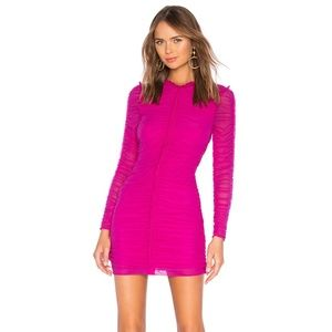 NBD Las Olas Long Sleeve Mini Dress